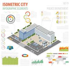 Design Your Own Office Impressive Flat 48d Isometric Police Department And City Map Constructor