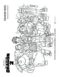 To Train Your Dragon 2 Coloring Pages And Activity Sheets