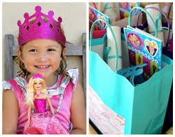 barbie princess party games