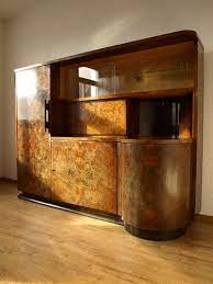 art deco drinks cabinet art