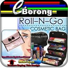 sty 2 roll n go makeup toiletry cosmetic bag organizer tra