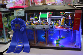 Funny Fish Tank Decorations Kids Aquarium Contest Themed Group 1 1st Place Aquarius
