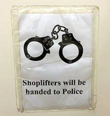 shoplifting notice warning shoplifters of prosecution in subang parade