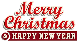 Merry Christmas And Happy New Year Logos Brands And Logotypes