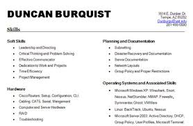 List Of Skills For Resume Best Template Collection List Of Hard Skills For  Resume