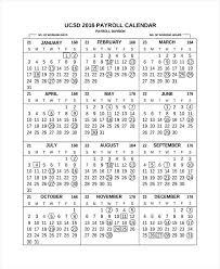 Payroll Calendar Template Best Biweekly Payroll Calendar My Template Collection Bi Monthly 48
