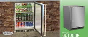 Refrigerator Outdoor 24 Outdoor Refrigerator Marvel Refrigeration