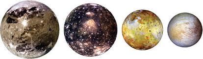 Resultado de imagen para satelites de jupiter