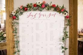 Calligraphy Wedding Seating Chart Bachelorette Wedding Desiree Chris La Happy