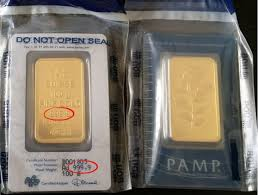 999 9 Pamp Gold From Uob Gold Precious Metals Silver