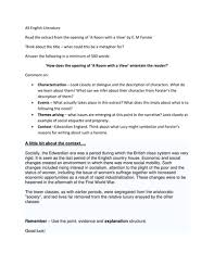 much ado about nothing essay plan template by missrathor  a room a view lesson resources for part 1 of the novel