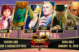 street fighter 5 s third season of characters revealed polygon