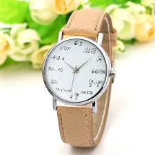 math equation leather watch strap women quartz watch luxury casual geneva migeer fitbit alta band titan hoy relogio feminino in women s watches from