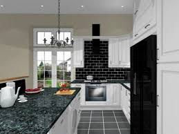 black and white kitchen ideas. Black White Kitchens Ideas Orangearts Small Modern Kitchen Design With Cabinetry Also Island Granite Top And R