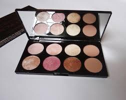 makeup revolution golden sugar 2 rose gold ultra professional blush palette review