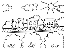 Small Picture babies and toys on a train cargo train coach coloring pages train