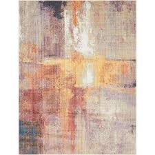 multi 9 0 x 12 0 downtown collection by jill zarin rug