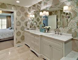 master bathroom traditional bathroom minneapolis design by lisa love mirror and vanity design not wallpaper