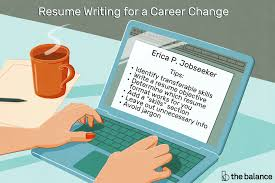 Tips On How To Write A Resumes Resume Writing Tips For Changing Careers