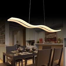 pendant lighting for dining table. 40W/56W LED Pendant Lights Modern Kitchen Acrylic Suspension Hanging Ceiling Lamp Dining Table Lighting For U