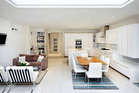 Open Plan Kitchen Dining And Living Room Ideas  CenterfieldbarcomContemporary Open Plan Kitchen Living Room
