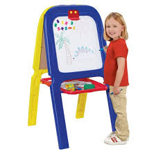 Crayola <b>3-in-1 Magnetic</b> Double Easel with Letters and Numbers ...