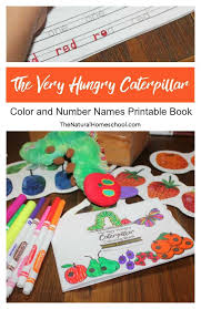 Field trip nametag printable (color) eight field trip nametags in color on one printable page. The Very Hungry Caterpillar Printable Book Color And Number Names The Natural Homeschool