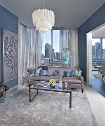 Contemporary Living Room Decor With Monochromatic Ideas In Dallas ...
