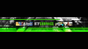 Youtube Channel Banners Atf Graphic Design