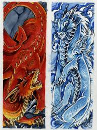 In my house, bookmarks tend to disappear or get damaged really fast. Dragon Bookmarks Carinewbi