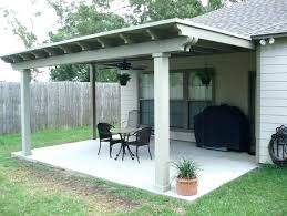 backyard back porch cover pumpkin light diy patios covers outdoor back porch