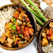 healthy kung pao en