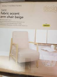 aldi tate fabric accent armchair beige armchairs gumtree australia tea tree gully area greenwith 1162194911