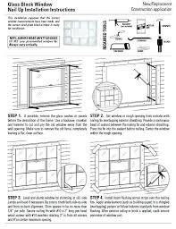 cost of glass block glass block window installation instructions cost estimate glass block window installation s