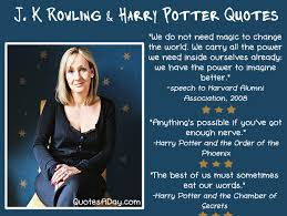 Jk Rowling Quotes Custom JK Rowling Quotes Quotes A Day