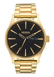 sentry ss men s watches nixon watches and premium accessories sentry ss all gold black