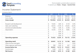 Free Accounting Templates In Excel Download For Your Business
