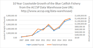 Bay Invaders The Blue Catfish Fishery Noaa Fisheries