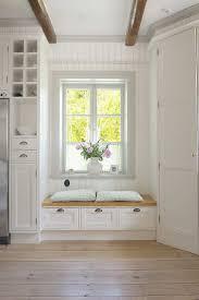 window seat idea for kitchen area nook
