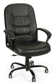 ofm big and tall leather office chair full white dining table black chairs laminate underlay martha