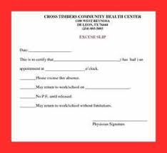 Doctors Note Va Fake Richmond Free Fake Doctors Excuse Template