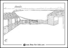 Farm Colouring Pages With Farm Animal Pictures