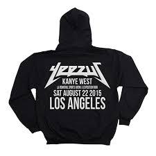 Yeezy Hoodie Size Chart Cristees Design Yeezus Tour Hoodie Los Angeles Yeezy Yeezus Merch Yeezus Tour