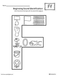 You will find all levels of phonics printable worksheets. Letter F Beginning Sound Color Pictures Worksheet Myteachingstation Com