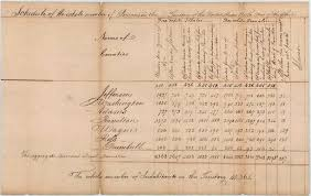 Image result for first us census