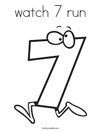 Small Picture watch 7 run Coloring Page Twisty Noodle