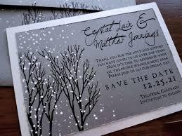 Winter Wedding Save The Date Winter Wedding Save The Date Winter Wonderland Wedding Save Etsy