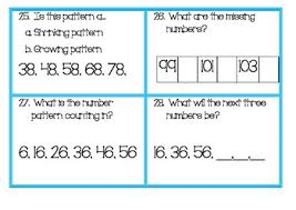 Growing And Shrinking Growing And Shrinking Number Patterns And Number Sequences