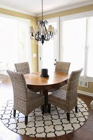 rug under round kitchen table. Beautiful Round Kitchen Table Rugs Also For Dining Room Rug Size Best Of Pictures Under W