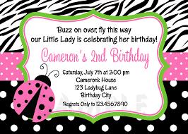 Ladybug Invitations Template Free Pink Ladybug Invitations Magdalene Project Org